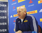 CAPE TOWN, SOUTH AFRICA - JULY 20: John Dobson during the DHL Western Province training session and press conference at High Performance Centre on July 20, 2015 in Cape Town, South Africa. (Photo by Carl Fourie/Gallo Images)