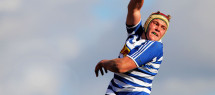 STELLENBOSCH, SOUTH AFRICA - JULY 12: Ernst van Rhyn of Western Province during the match between the Blue Bulls and Western Province during day 1 of  the U18 Coca-Cola Craven Week at Paul Roos Gymnasium on July 12, 2015 in Stellenbosch, South Africa. (Photo by Petri Oeschger/Gallo Images)