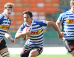 CAPE TOWN, SOUTH AFRICA - SEPTEMBER 05: Ryno Eksteen of Western Province U/21 during the Absa U21 match between Western Province and Leopards at DHL Newlands Stadium on September 05, 2015 in Cape Town, South Africa. (Photo by Carl Fourie/Gallo Images)
