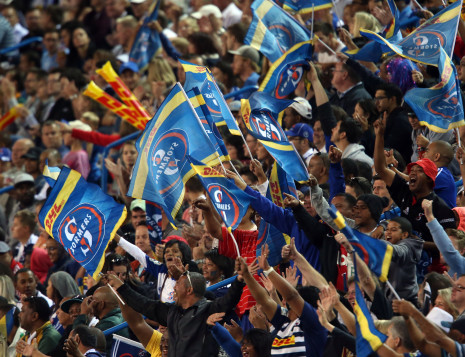 CAPE TOWN, SOUTH AFRICA - MARCH 07: Newlands crowd during the Super Rugby match between DHL Stormers at Cell C Sharks at DHL Newlands on March 07, 2015 in Cape Town, South Africa. (Photo by Carl Fourie/Gallo Images)