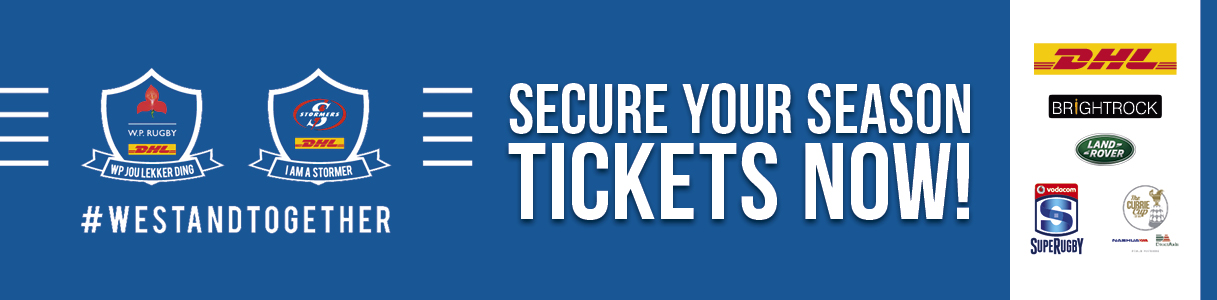 Secure your season tickets now
